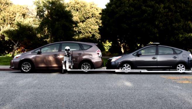El robot GoBetween patrulla las calles