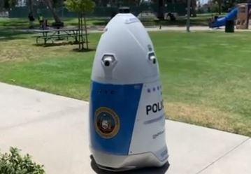 HP Robocop, el robot K5 es el nuevo policía de california