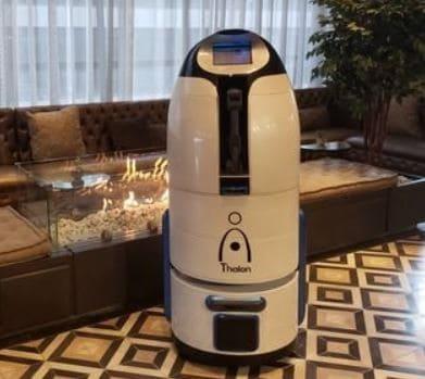 Un robot de nombre Thalon es el nuevo botones de tu hotel