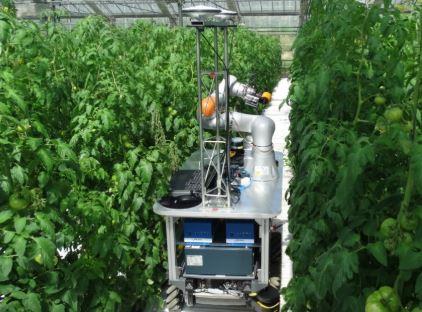 El vehículo robotizado agrícola Green Patrol desarrollado en el País Vasco