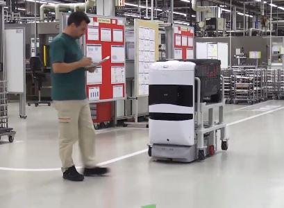 Conoce quién es el robot TUG del Sheraton