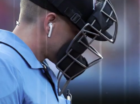 Androide árbitro de beisbol para evitar fallos arbitrales